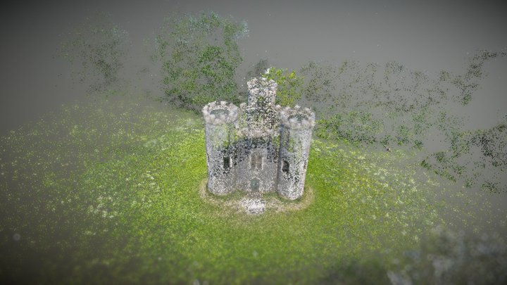 Blaise Castle (Sparse Cloud) 3D Model