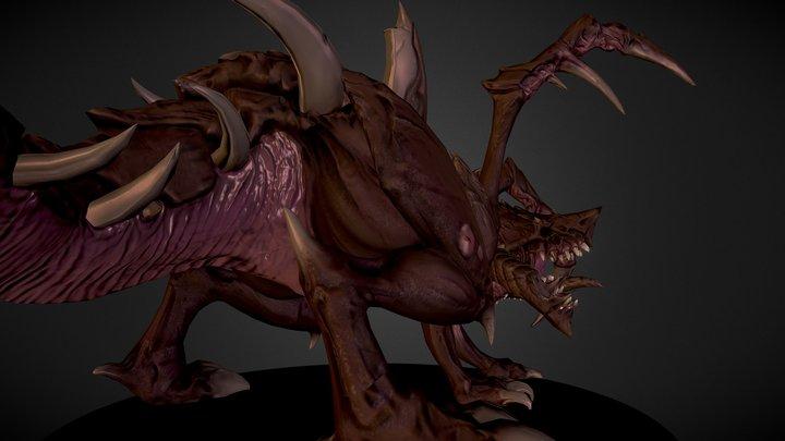 BlizzardFest 2014 | 3D | flamm3d | Zergling 3D Model