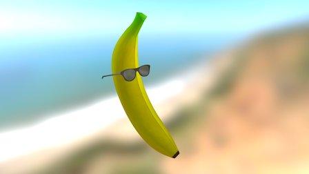 Chilled Banana 3D Model