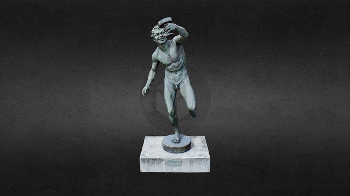 Bachus, Oscar Spaethe 3D Model