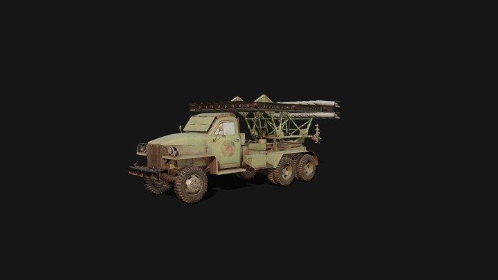 Катюша БМ-13 3D Model
