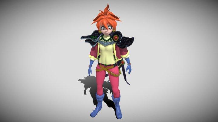 Lina Inverse (manga version) 3D Model