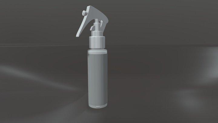 Spray Pack 3D Model