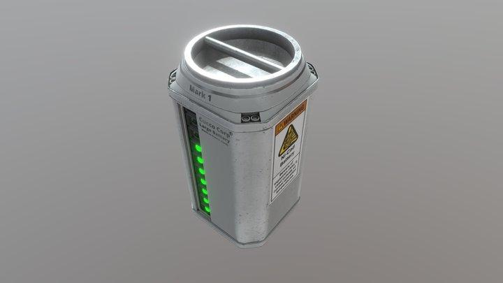 SM Large Battery Sketch 3D Model