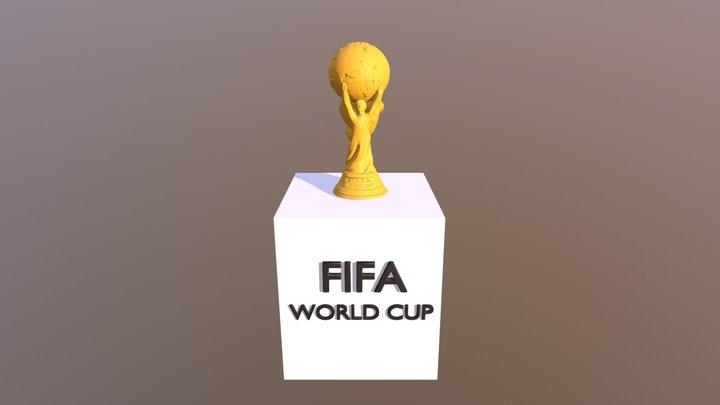 世界足球冠軍杯 3D Model