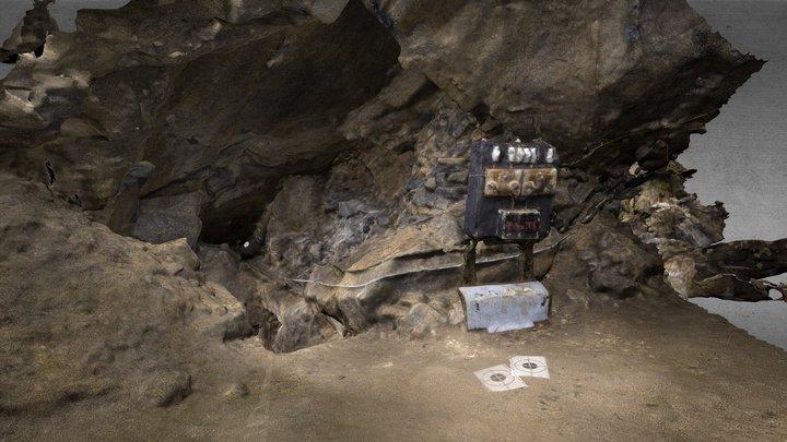 Cave - corridor NW 3D Model