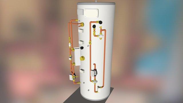 DS500-18 Cylinder 3D Model