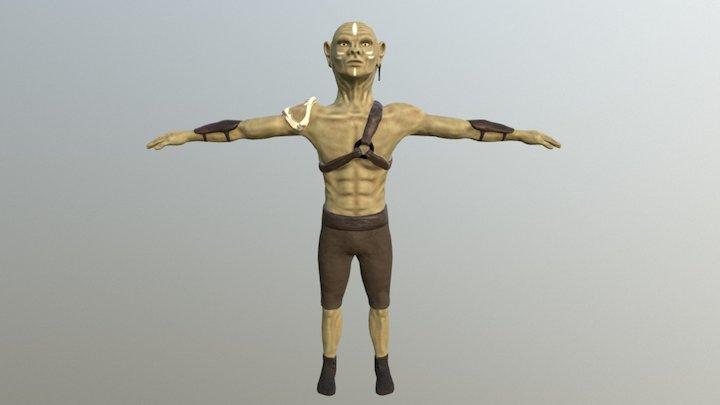 Boglin Done 3D Model