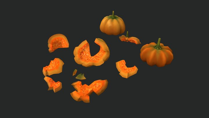 LP Pumpkin 3D Model