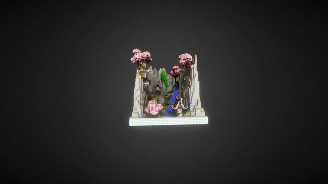 Escenario Japonés 3D Model