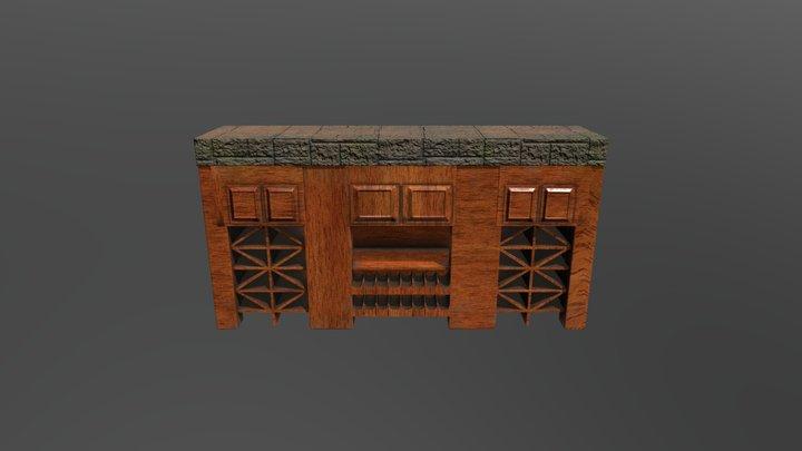 winerack 3D Model