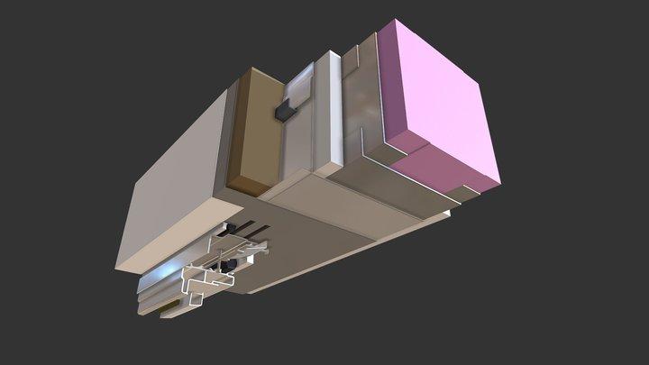 Head Detail STO 3D Model