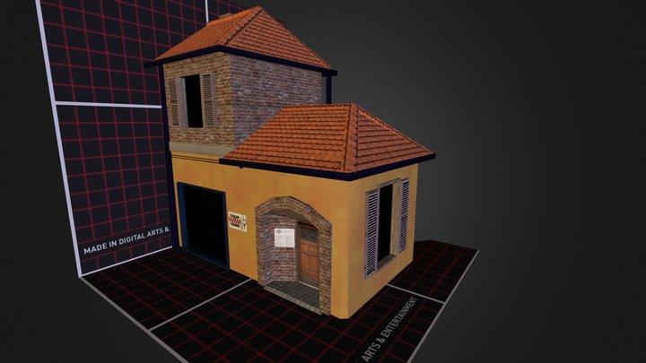 House_Pizzaria 3D Model