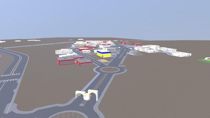 MAPA UABCS 3D 2019-II 3D Model