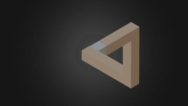 Triangle De Penrose 3D Model