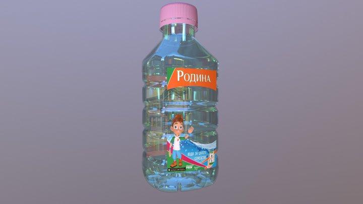 Bottle Rodi 3D Model