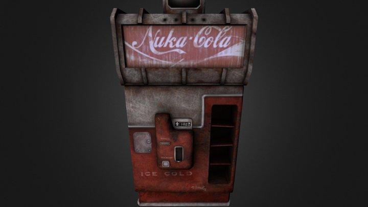 Nuka Venda Machine 3D Model