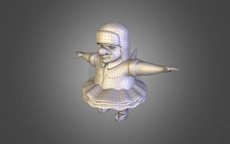 Stumblebumb: The Dream Fairy 3D Model