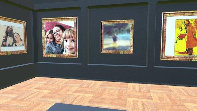 Instamuseum for @medraina 3D Model