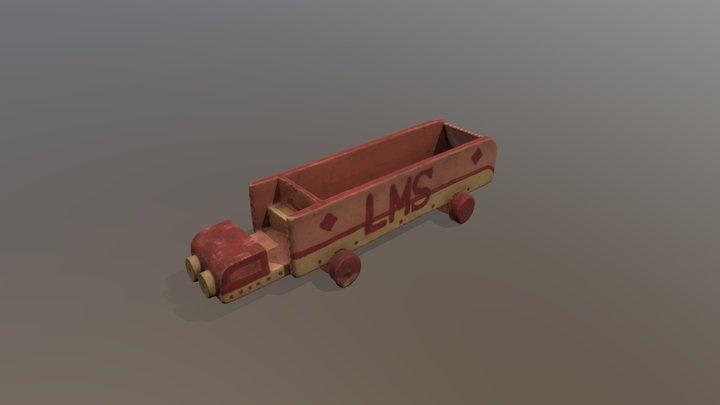 Barney Greenman's Truck 3D Model