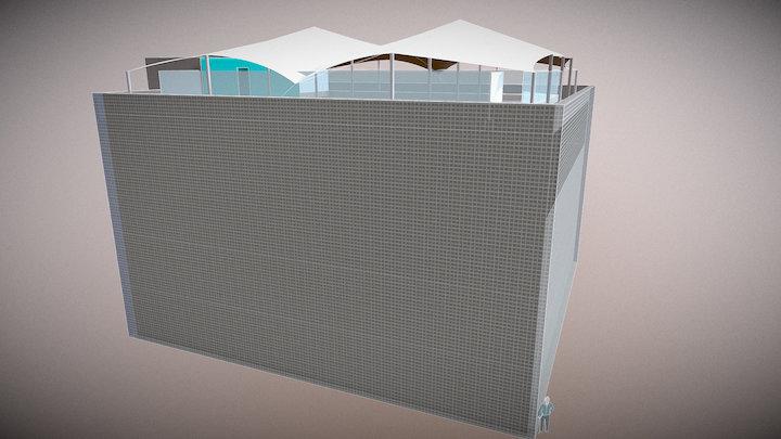 18 x 18 rooftop 3D Model