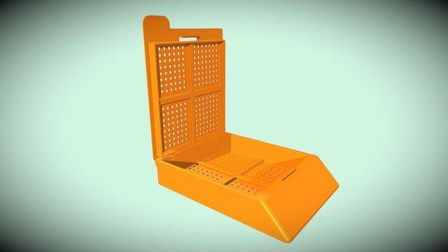 Caja de biopsia 3D Model