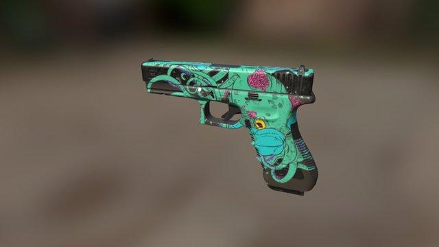 Weapon: Glock 17 3D Model