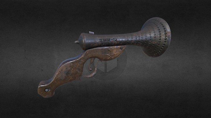old_gun xe.edition 3D Model