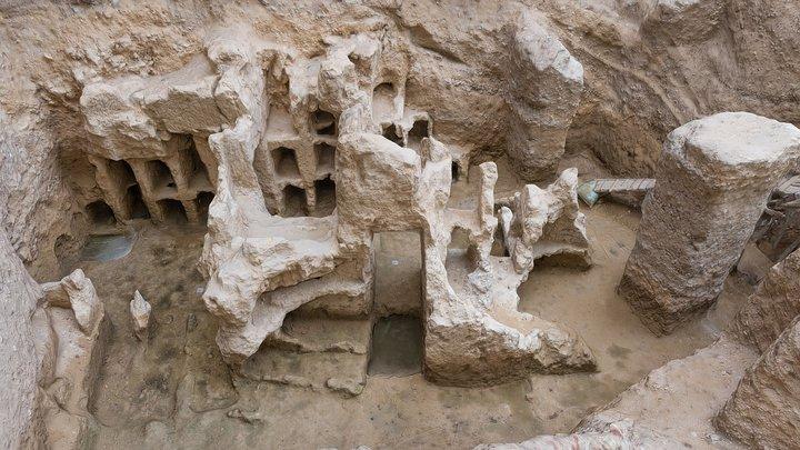 Egypt, Ptolemaic tomb 3D Model