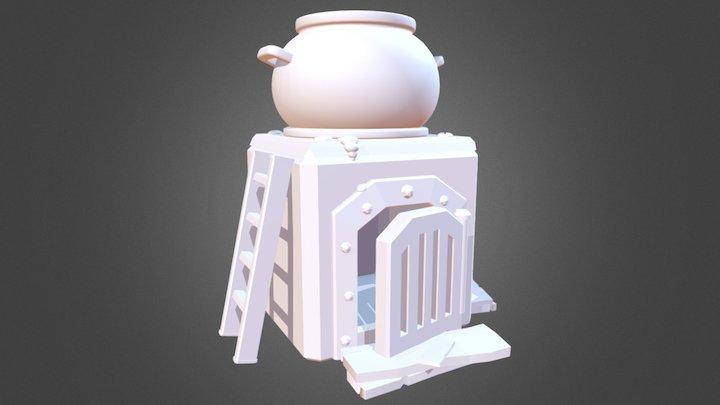 Furnace - Clash Royale 3D Model