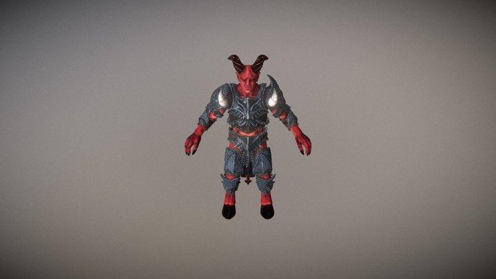 Devils Pack PBR 3D Model