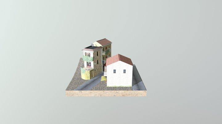 Cuvelier Jessie Nonza Cityscene 3D Model