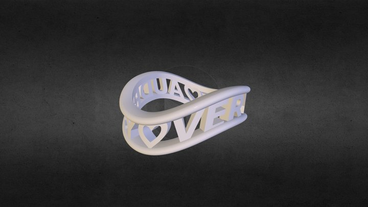 AUDREY ♥  VERYBUY ♥ 圓框無限款 3D Model