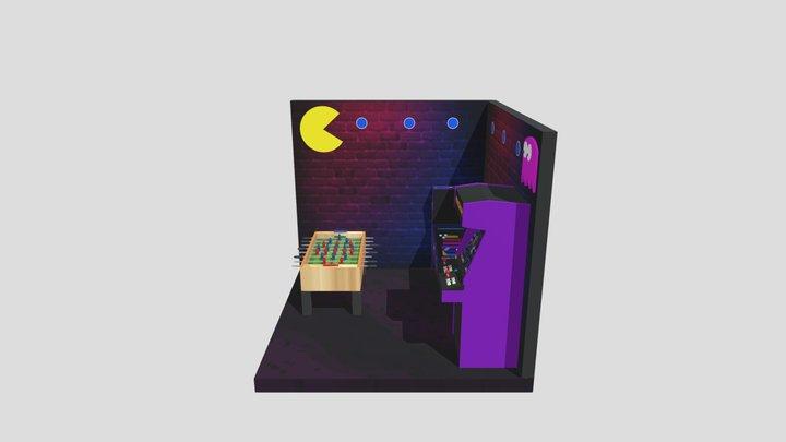 Fliperama 3D Model