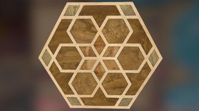 Naked Geometry Hexagon Copy 3D Model