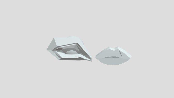 Ojo Y Boca 3D Model
