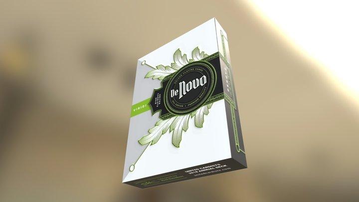 De Novo Playing Cards - Viridi deck 3D Model