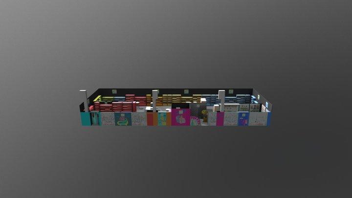 STAND DJECO_SPIELWARENMESSE_NUREMBERG 2018 3D Model