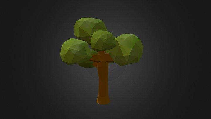 Poly Tree 06 3D Model
