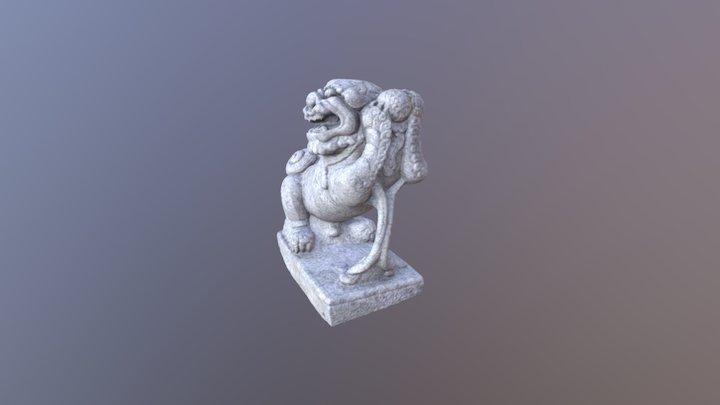 8 14石狮模型 3D Model