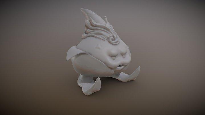 Breath of Fire III - Peco 3D Model