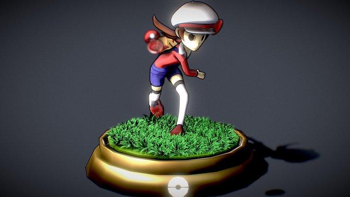 Pokémon: Trainer Lyra 3D Model
