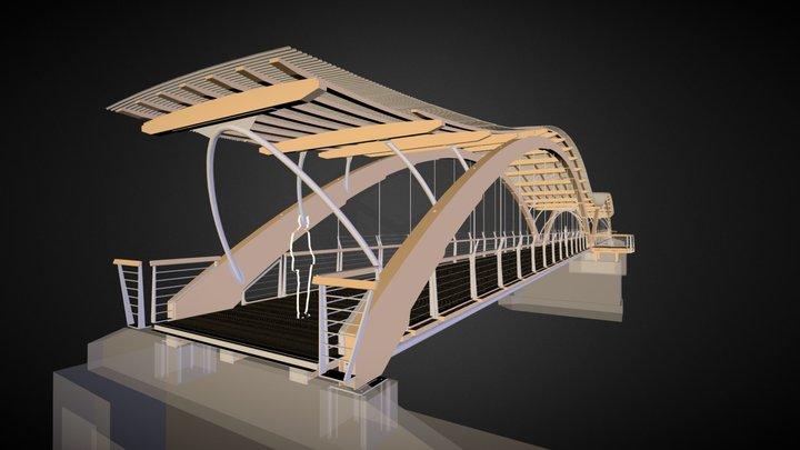 Princeton Bridge 3D Model