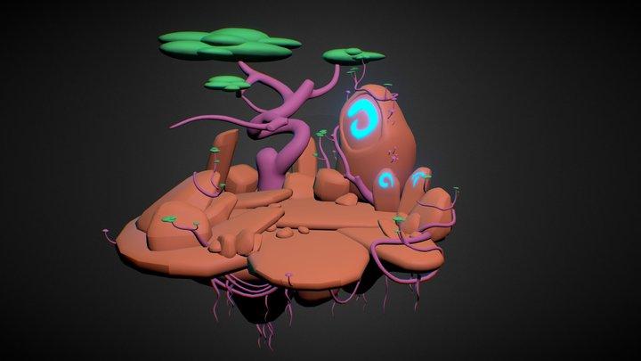 LandscapeColorTest 3D Model