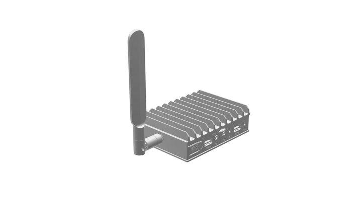 FITLET2-FC-CEM Antenna 3D Model