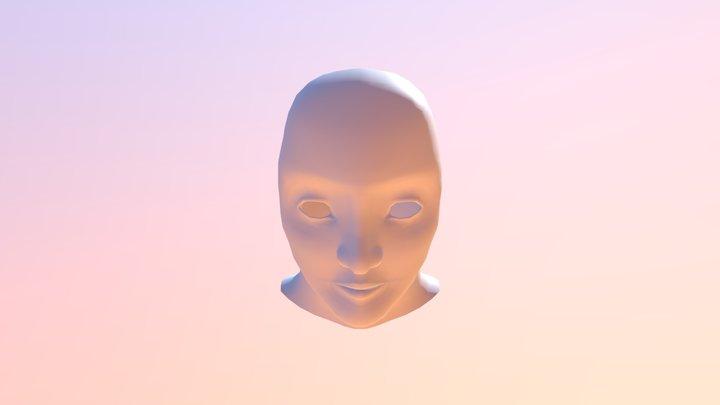 Christopher Hedley Head Assignment 3D Model
