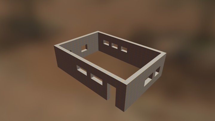 Korob EcoCub 3D Model