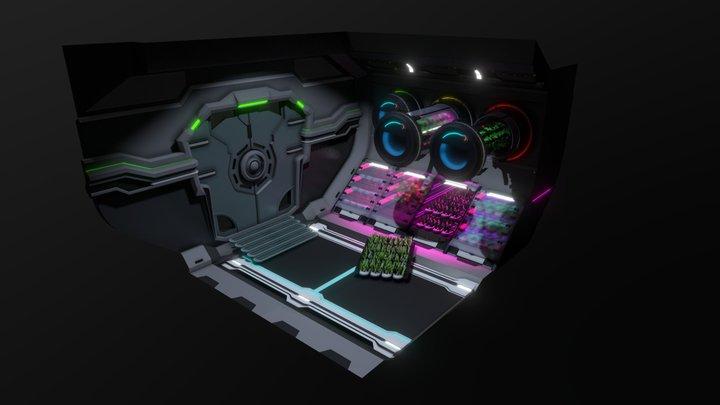 Space Farm 3D Model
