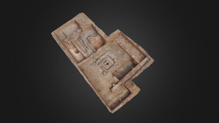 Zona 1. Ciudad romana de El Pueyo (Belchite) 3D Model