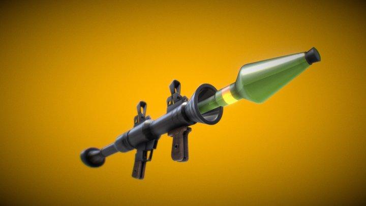 RPG-7 Fortnite 3D Model